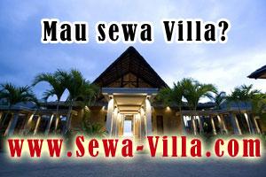 sewa villa