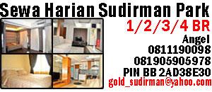 sewa harian apartemen Sudirman Park